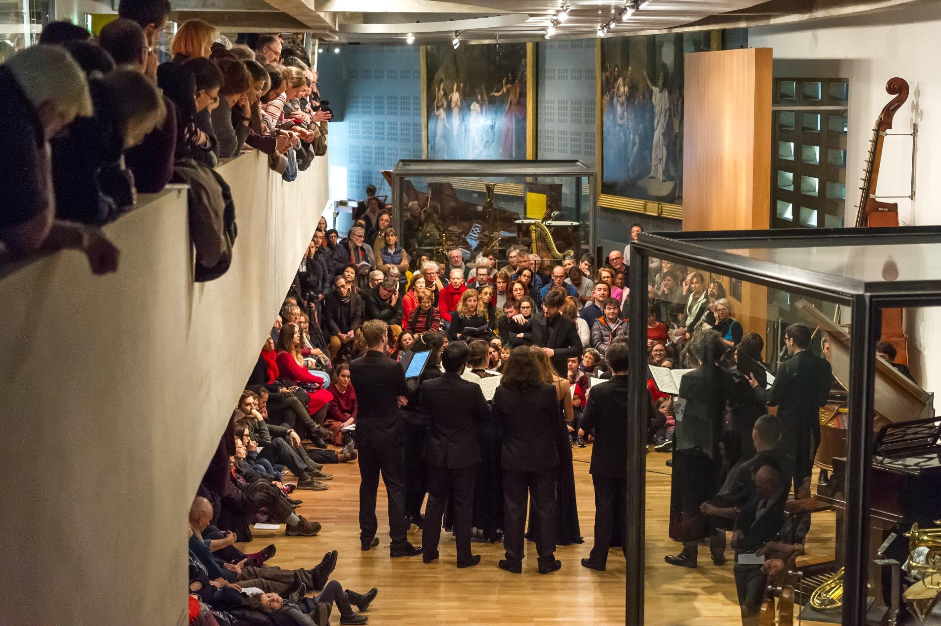 Chants d'amour - Ensemble Exprîme - Musée de la musique Paris 2017