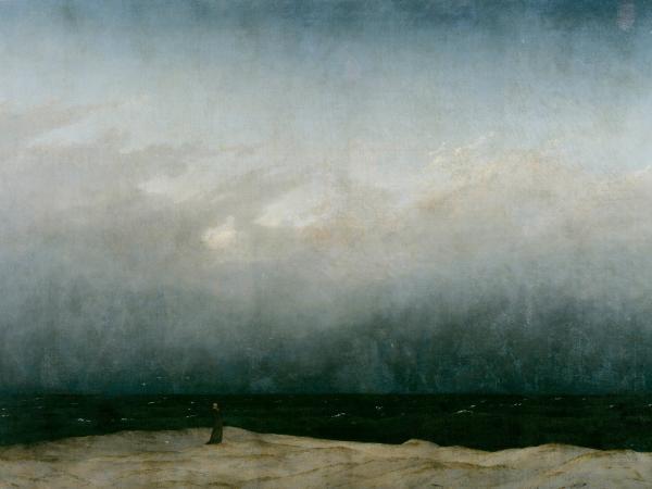 Caspar David Friedrich - Der Monch am Meer