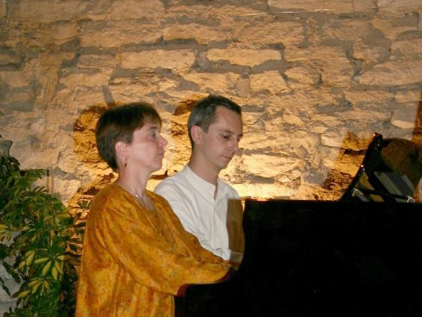 Claudine et Paul-Henri Florès